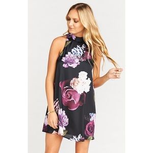 NWOT Show Me Your Mumu V-Right Back Mini Dress